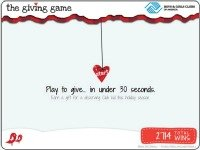 the giving game {Boys and Girls Club of America}