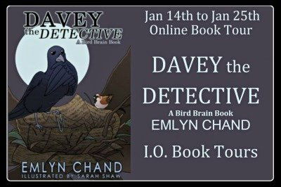 Davey the Detective by Emlyn Chand {Review & Book tour}