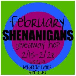 February Shenanigans Giveaway Hop {hosted by Weidknecht Events Going Crazy} February 15-28