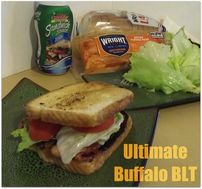 Ultimate Buffalo BLT with @WrightBacon #MealsTogether