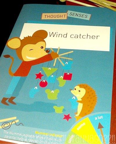 Wind catcher craft from Wummel Box