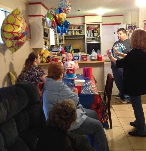 5 year old birthday party