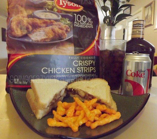 BBQ chicken salad sandwich #MealsTogether