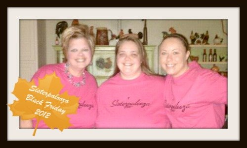 Sisterpalooza Black Friday 2012