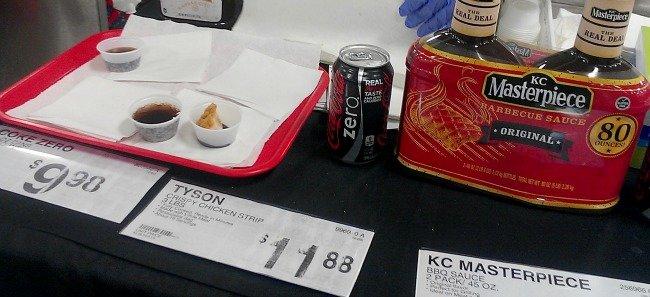 Tyson Coca Cola Zero KC Masterpiece demo at Sams Club #MealsTogether