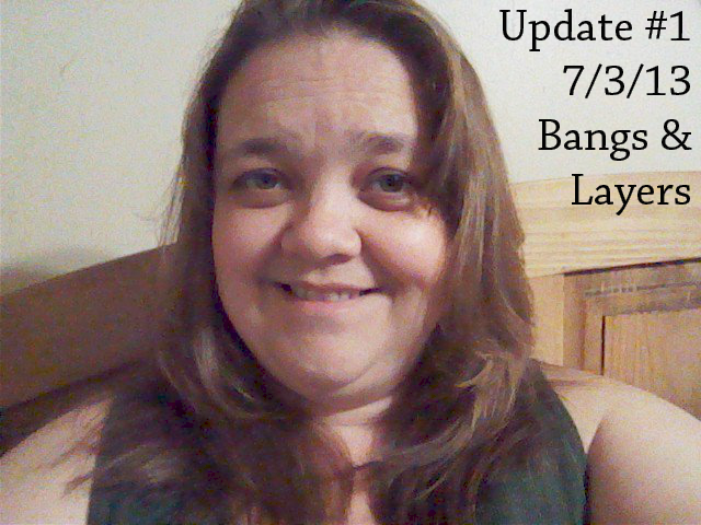 how to cut your long hair with bangs and layers