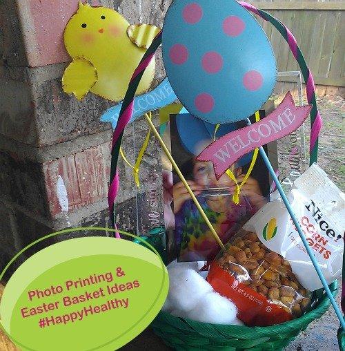 Photo Printing Easter Basket Ideas #HappyHealthy