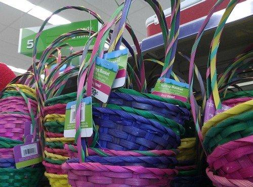 small Easter baskets at Walgreens #HappyHealthy