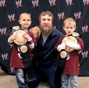 Daniel Bryan meets Connor {Make-A-Wish} #wwemoms