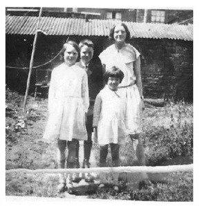 Granny and siblings {Northampton, England}