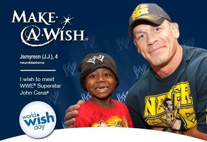 World Wish Day is April 29 {Make-A-Wish Foundation and WWE John Cena} #wwemoms
