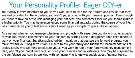 Your Personality Profile from MassMutual