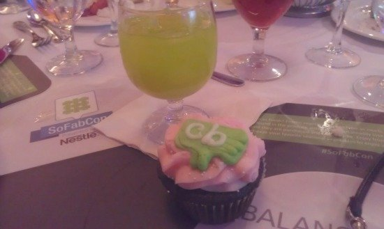 Collective Bias birthday cupcake #SoFabCon