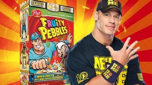John Cena Fruity Pebbles #wwemoms