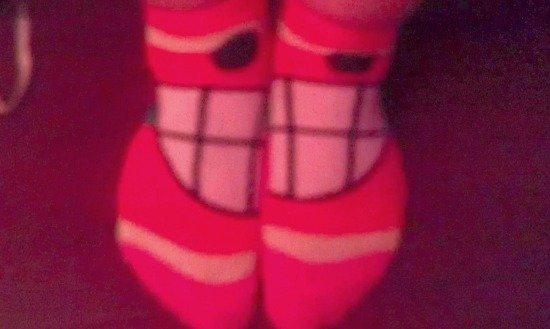 smiling socks #SoFabCon