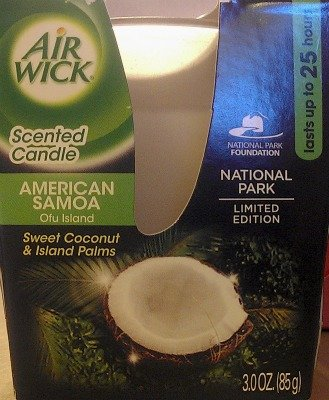 Air Wick National Park Scented Candle {American Samoa Ofu Island}