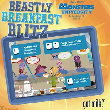 Beastly Breakfast Blitz game