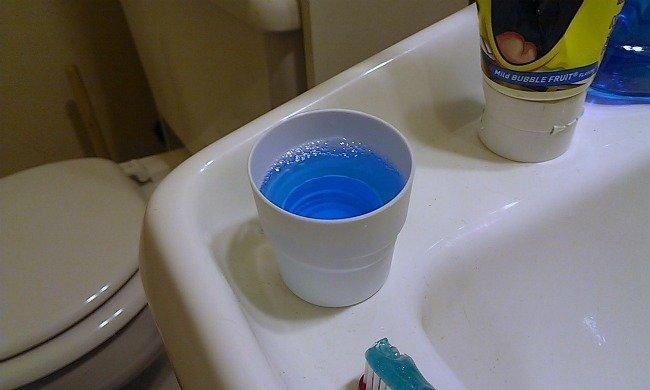 Colgate Total mouthwash #TotalSmile