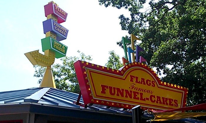 Flags Famous Funnel Cakes