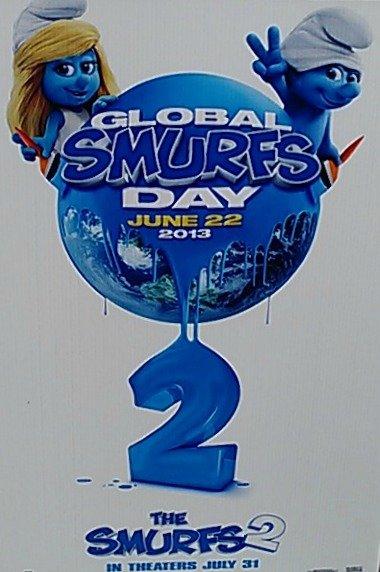 Global Smurfs Day June 22 2013