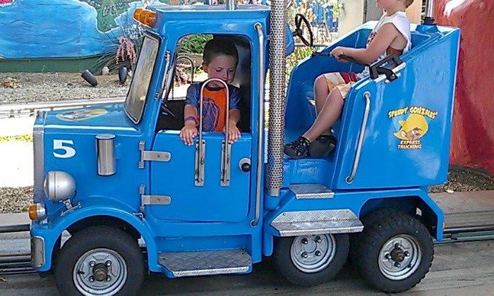 riding the Speedy trucks