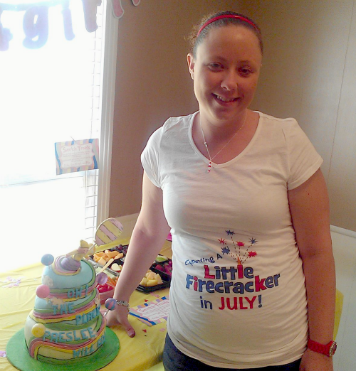 Baby shower Oh The Places She will go