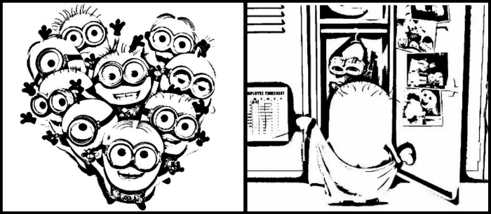 Despicable Me 2 coloring pages
