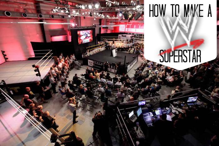 How to make a WWE superstar