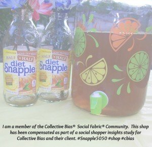 Summer Picnic with Snapple Half n Half iced tea #Snapple5050 #shop #cbias
