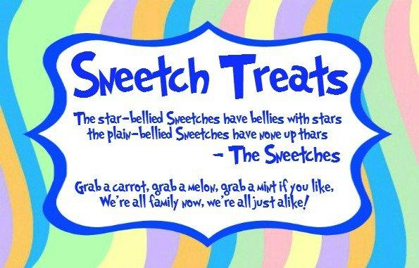sneetch treats blue