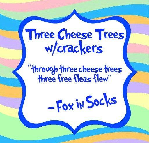 three cheese trees blue