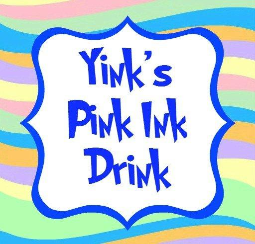 yinks pink ink drink blue