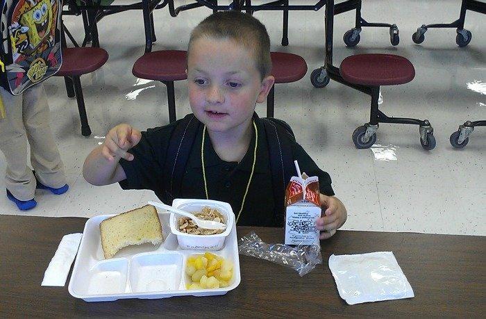 Kindergarten breakfast