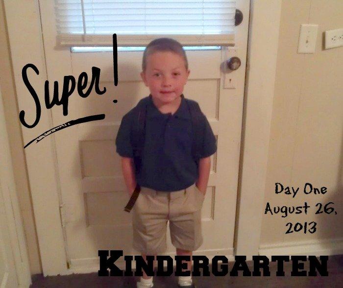 Kindergarten photo Day One