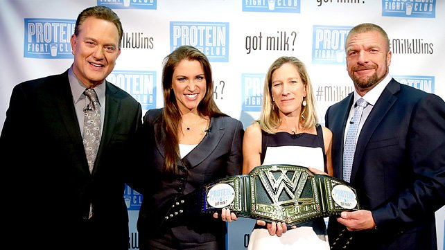 Protein Fight Club {WWE and MilkPEP} #wwemoms