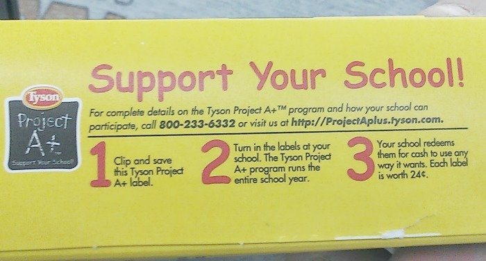 #ad Support Your School with Project A plus box #Clip4School #cbias