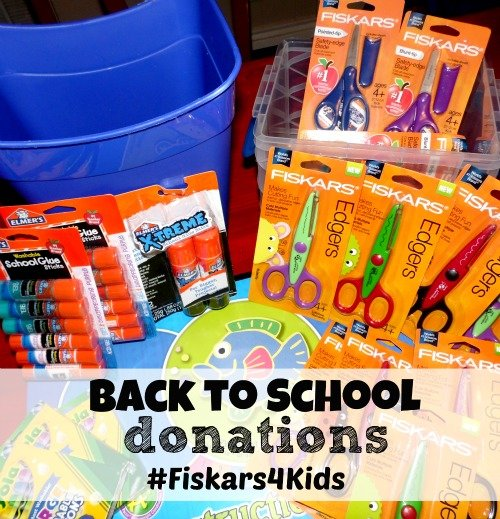Back to School donations #Fiskars4Kids #shop #cbias
