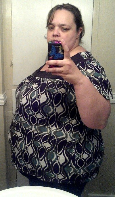 Before picture (side) at 369.8 lbs