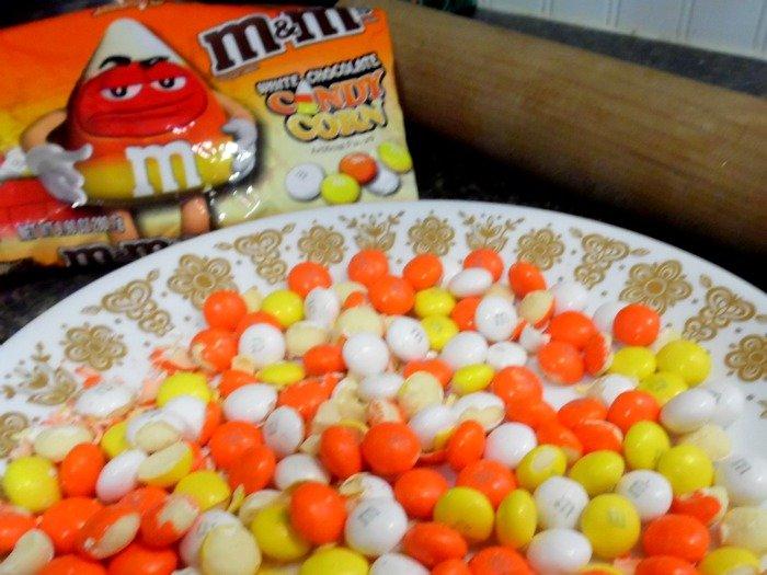 Candy Corn M&M's #HarvestFun #shop #cbias