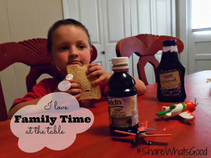 Family Time at the table #ShareWhatsGood #MC