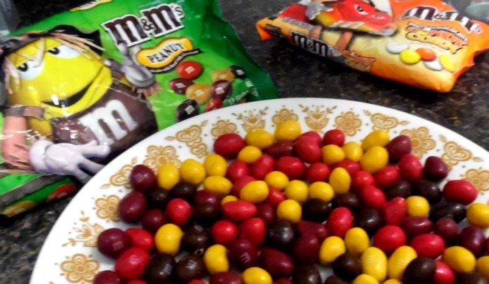 Fall Peanut M&M's #HarvestFun #shop #cbias