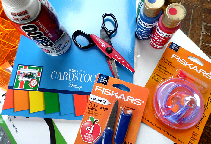 Ready for crafts with my boy #Fiskars4Kids #shop #cbias