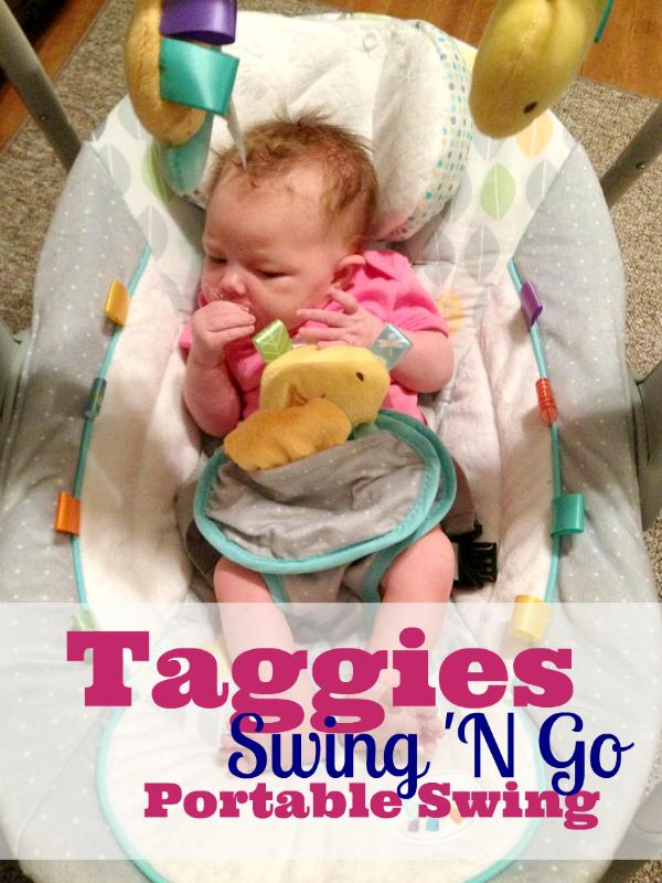 Taggies Swing N Go Portable Swing