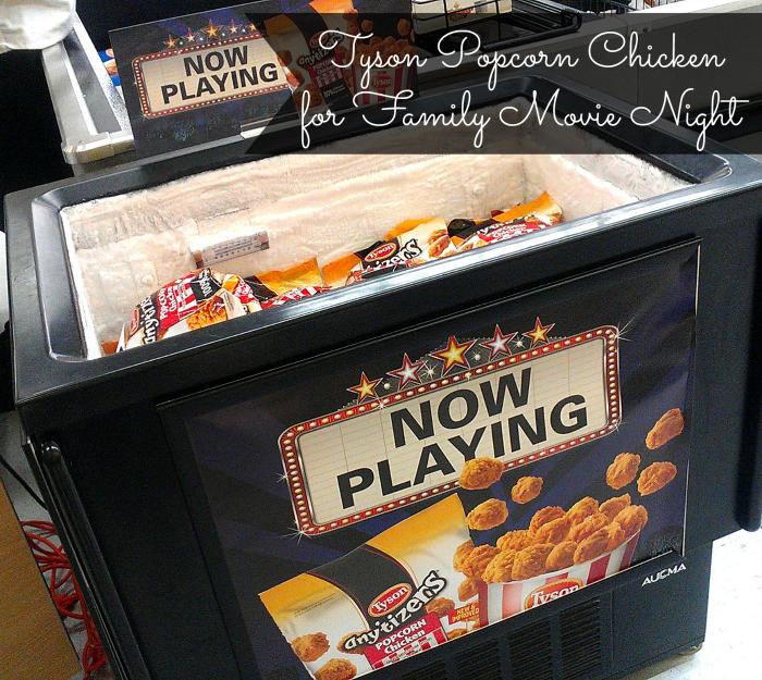 Tyson Popcorn Chicken for Family Movie Night #Tyson2Nite #shop #cbias