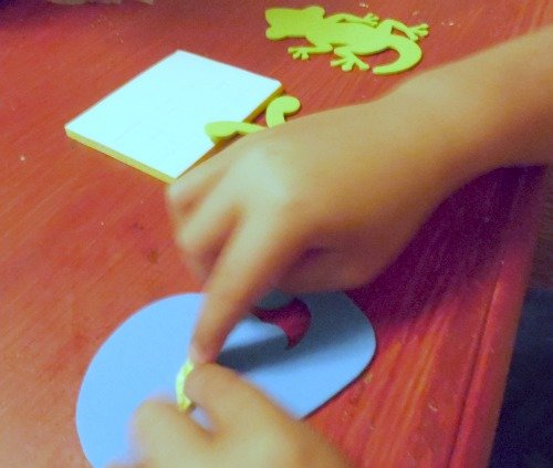 busy work for little hands text-UR® Foam crafts