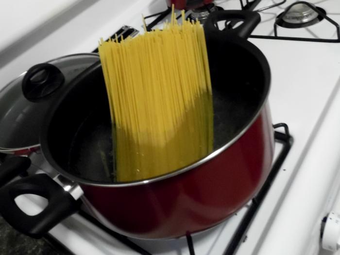cooking pasta #SamsDemos #shop #cbias