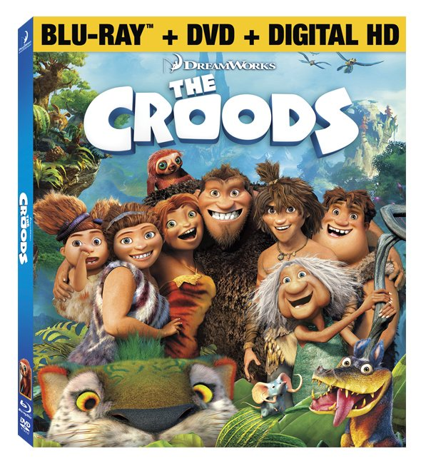The Croods on DVD