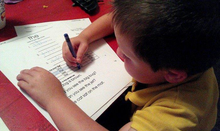 kindergarten homework #sharewhatsgood #MC