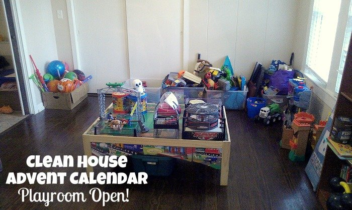 Clean House Play Room
