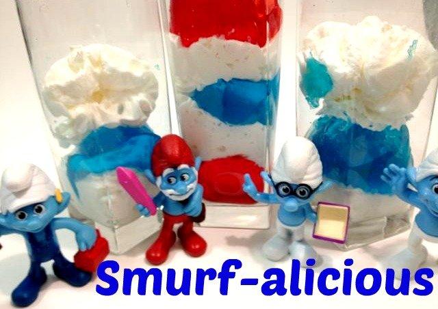 Smurf jello #TastyTenders #shop #cbias